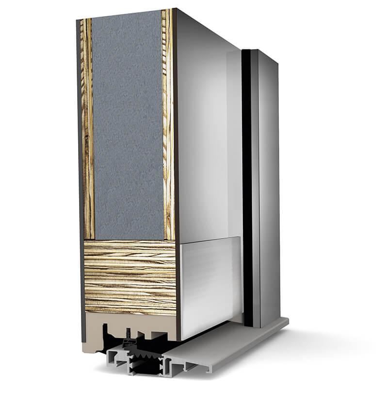 Zdjecie do artykułu: Czym charakteryzują sie pasywne drzwi drewniano aluminiowe