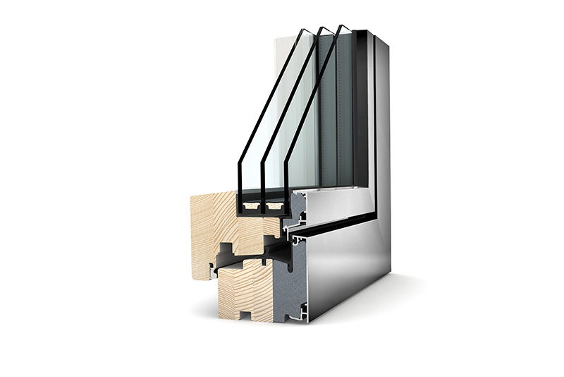 Zdjecie do artykułu: Internorm HF310 - pasywne okno drewniano-aluminiowe
