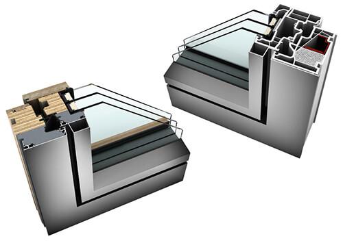 Zdjecie do artykułu: Profile okien drewniano aluminiowych